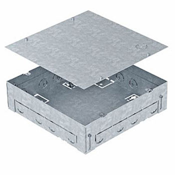 caja empotrar suelo